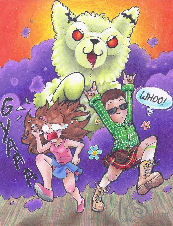 Zombie Alpaca Apocalypse! by NasikaSakura