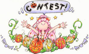 Cute-in-a-Cup Halloween Contest