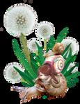 Omnomnom Snail Totem