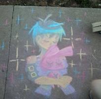 Sidewalk Chalk Pillow Talk by NasikaSakura