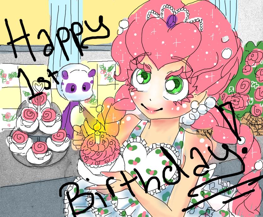 Happy 1st Birthday! _Doodle by NasikaSakura