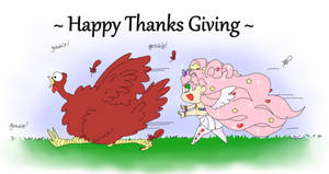 The Grand Turkey Race doodle