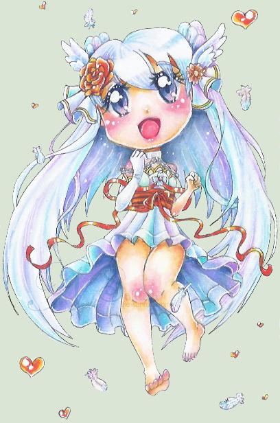 Chibi Ayu [+SpeedArt] by NasikaSakura
