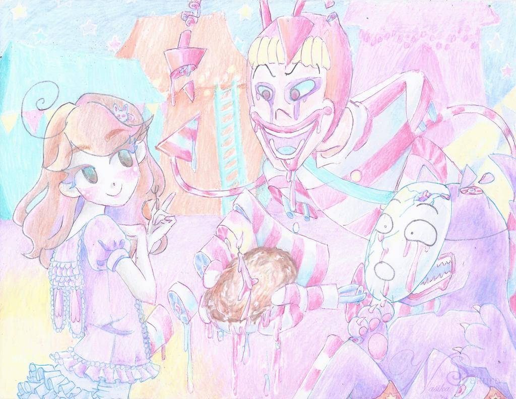 There's Teeth in my Pie  by NasikaSakura