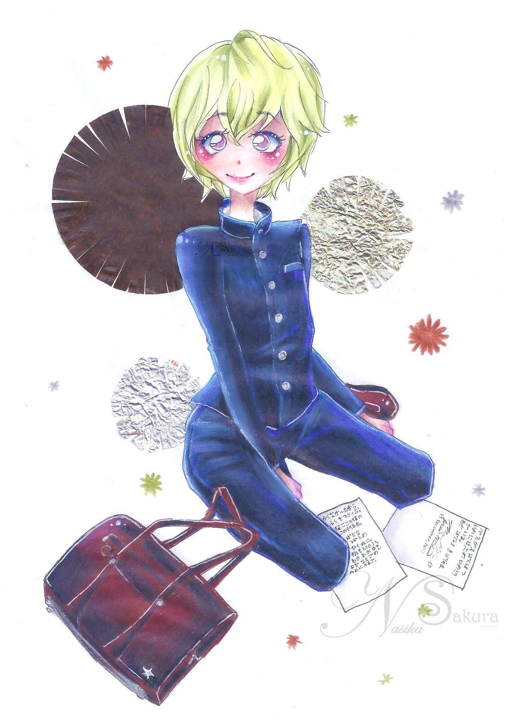boy for Becca by NasikaSakura