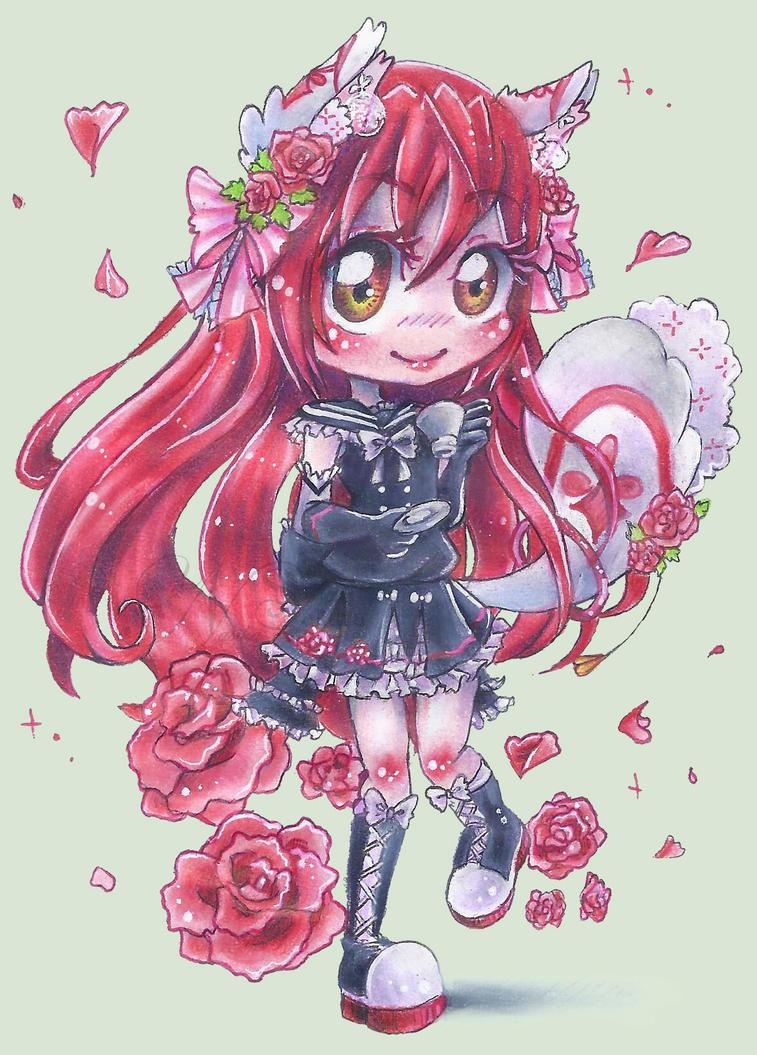 Rose Tea for Akane by NasikaSakura