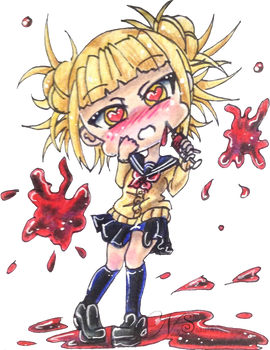 Himiko Toga in Love