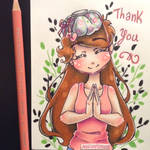 Thank You for 100+ Instagram Followers
