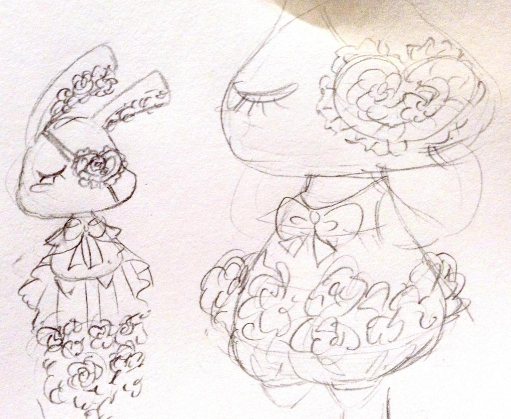 Bunny Lolita Design Sketch