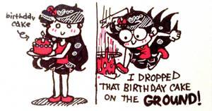 I Threw That Birthday Cake on the GROUND