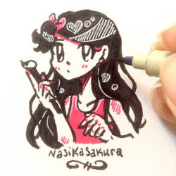 Brush Pen by NasikaSakura