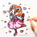 Retsuko's Pink Dress