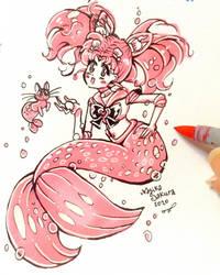 Strawberry Ocean by NasikaSakura
