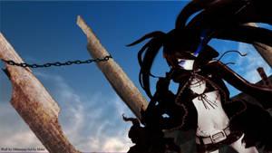 Black Rock Shooter by LeviathanCJ
