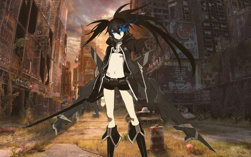 Black Rock Shooter The Game - PSP Black_rock_shooter_by_leviathancj-d4a51xd