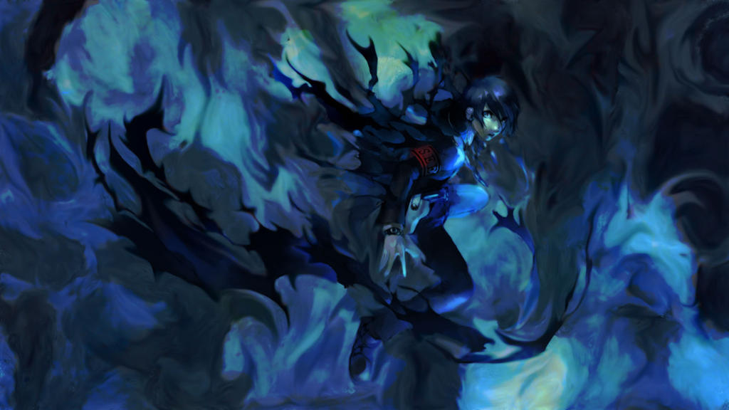 Minato Arisato by LeviathanCJ