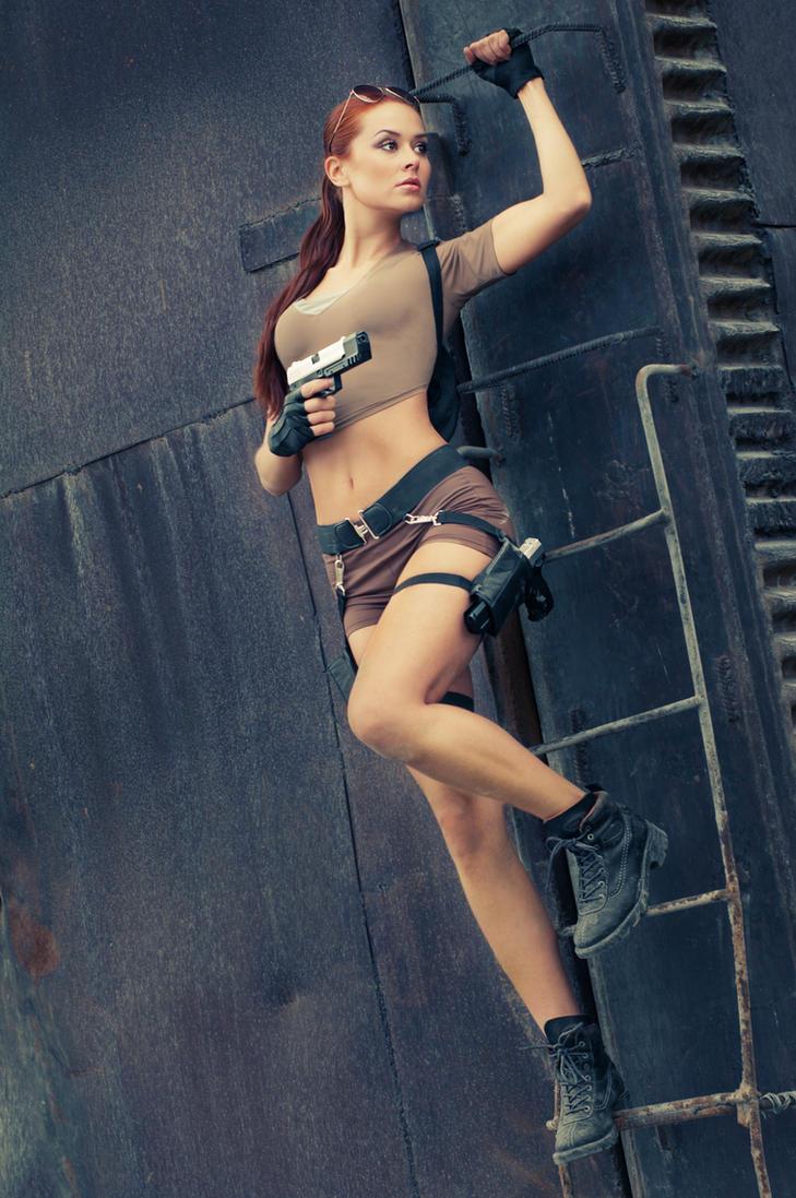 Lara Croft Cosplay #34 by errRust
