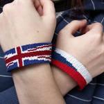 Union Jack bracelet