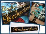 Broken Sword bracelet by letax
