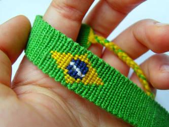Brazil Bracelet by letax