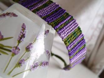 Lavender bracelet by letax