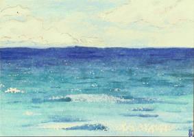 Postcard 2- sea by keksimtee