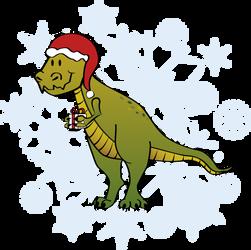 Merry Rex Mas by keksimtee