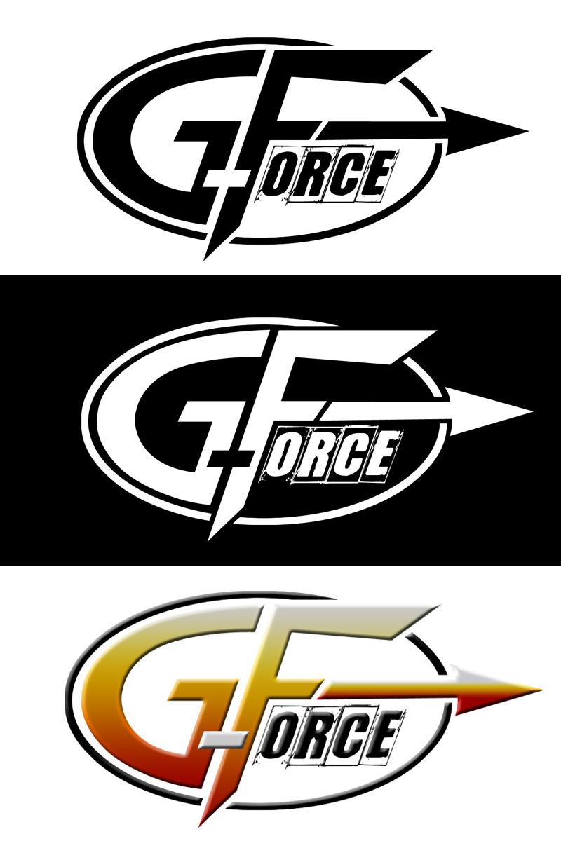 force logo desi... G Design