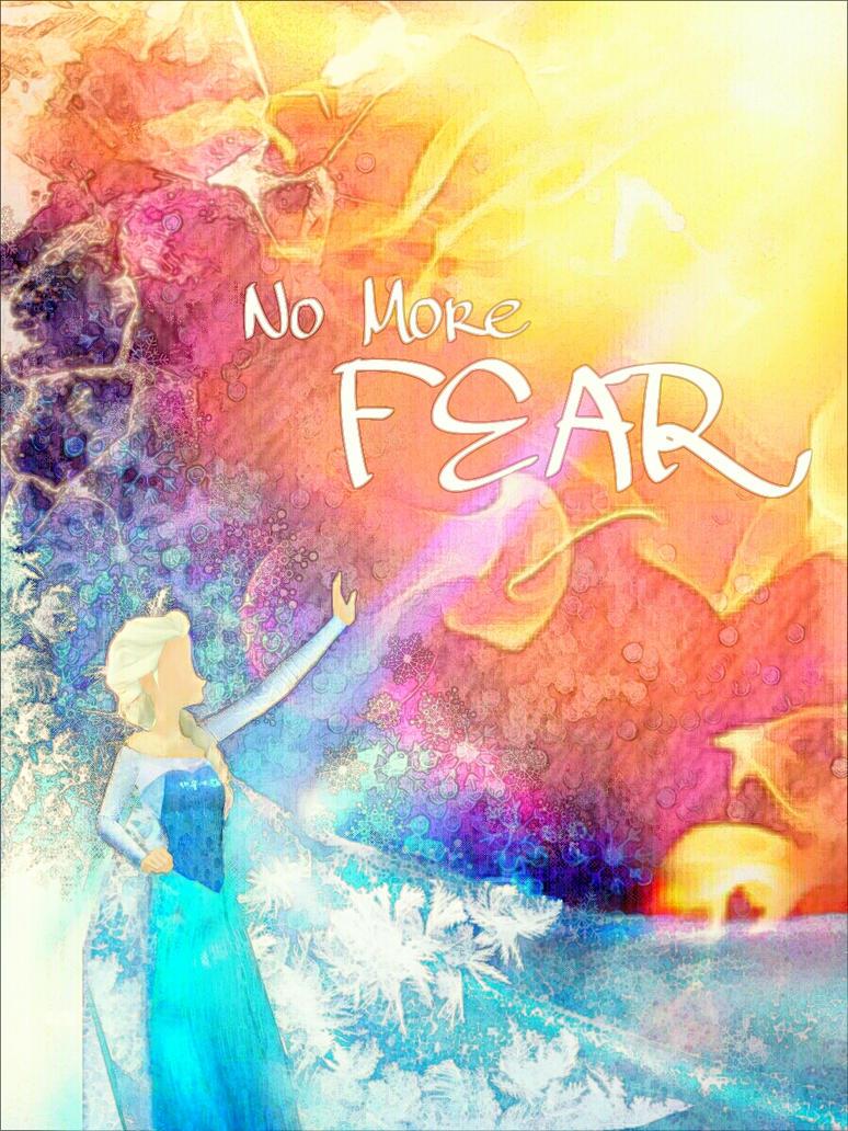 No More Fear- Elsa by LegoRielArt