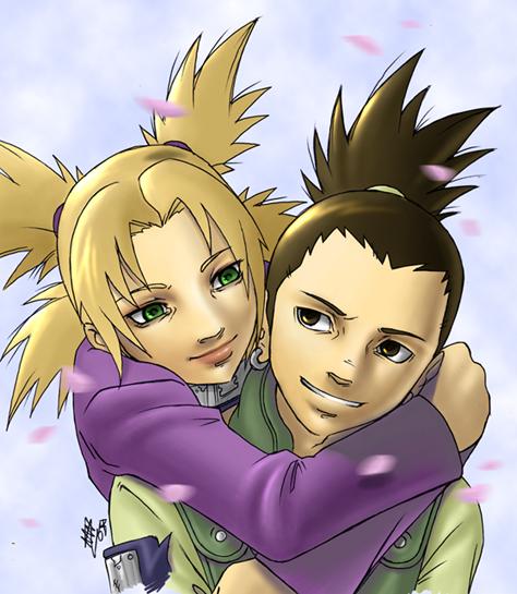 Shikamaru and Temari by Amon-The-Wrath