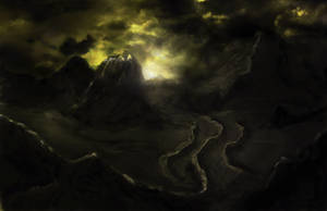 Dark Mountains by Senthrax