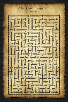 The Lost Labyrinths - Maze 1