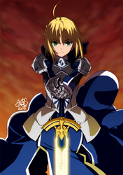 The King of Knights by theSN3S