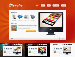 Monolio One Page HTML site by martin870