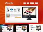 Monolio One Page HTML site