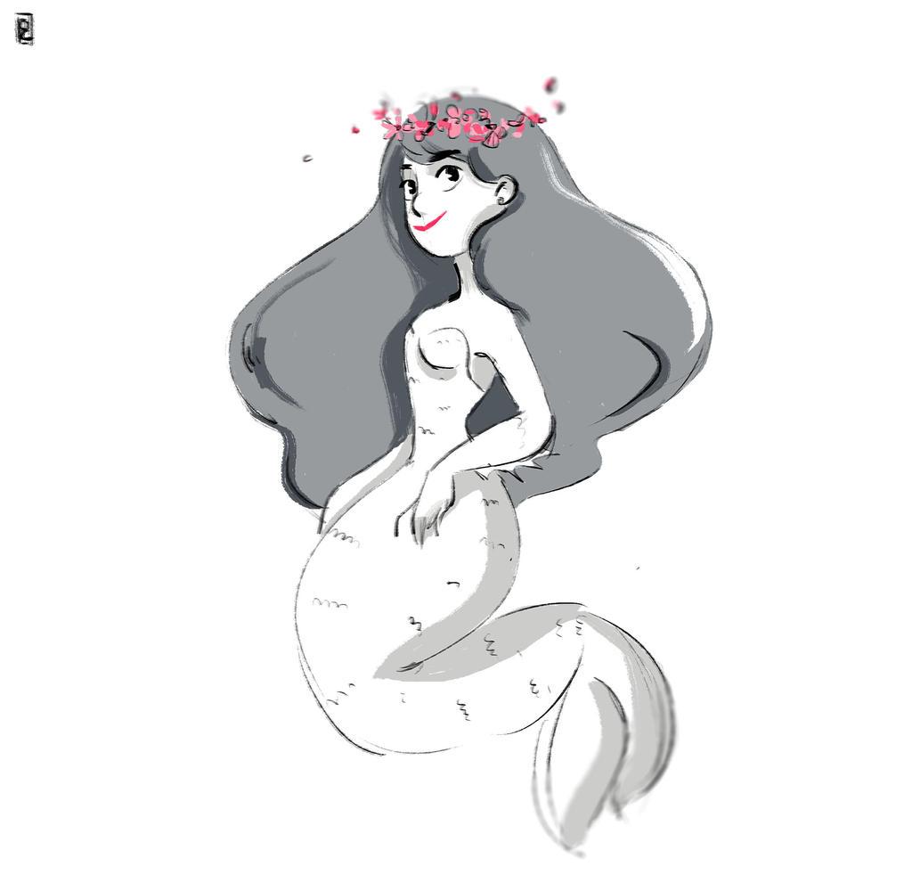 Mermaid #02 by Ophelie-c
