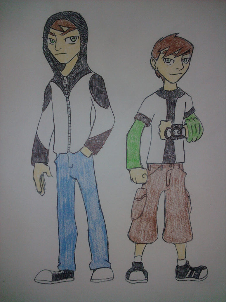 Ben 10 To the Power of Two by Zigwolf