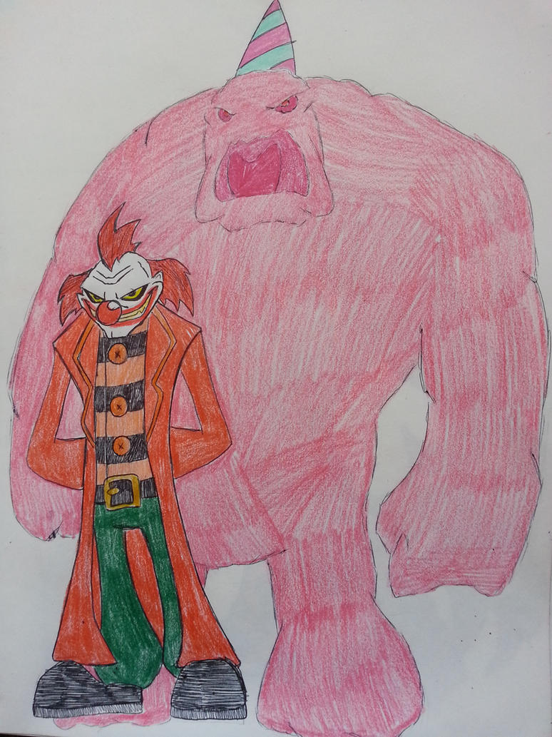Chuckles and the Cotton Candy Glob by Zigwolf on DeviantArt