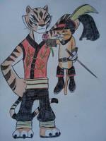Dreamworks Heroes: Kitty Crush by Zigwolf