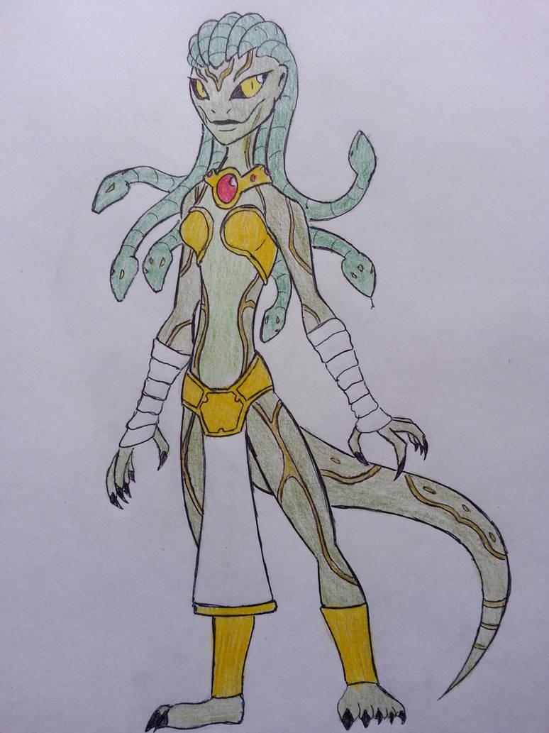 Medusa / The Cursed Beauty by Bookdud3 on DeviantArt