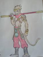 Monstrosities - The Fallen Monkey King, Wukong by Zigwolf