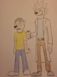Mick and Shorty SanKez by Zigwolf