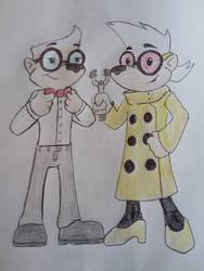Mr Kesbody and Nora Wakewick by Zigwolf