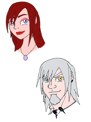 Queen Kairi and Lord Riku