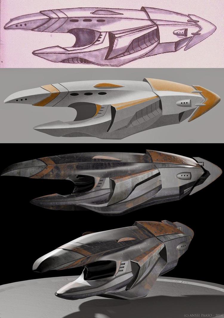 Ship progress by Patheme