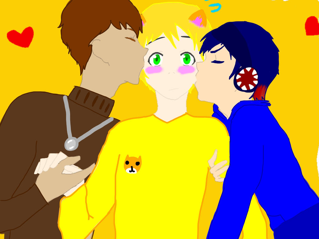 Is stampy cat hookup sqaishey and stampy kissing