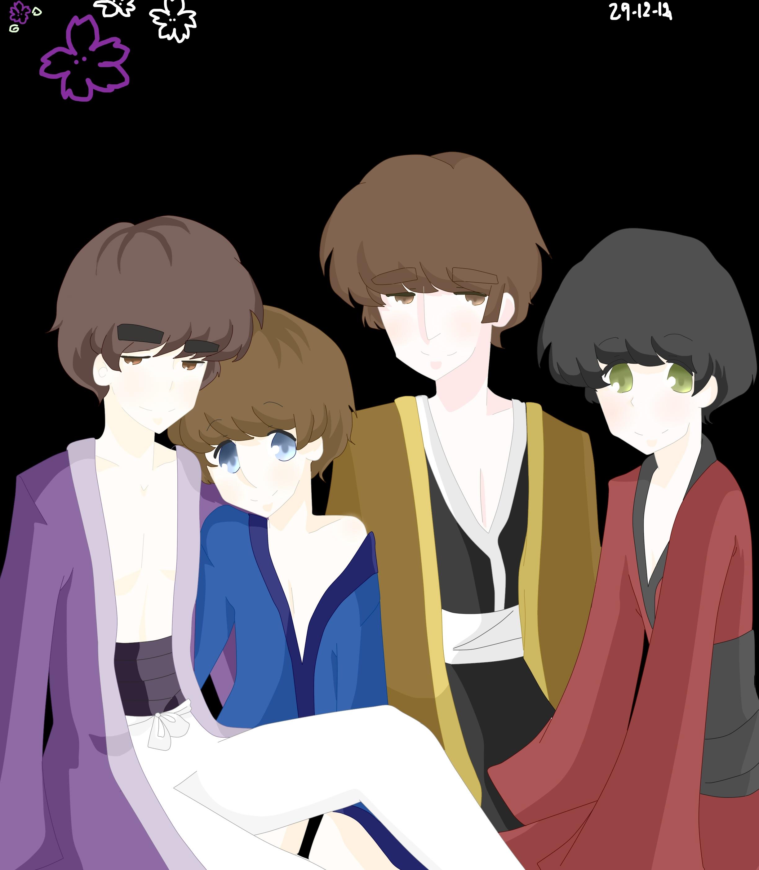 kimono by daisymcqueen
