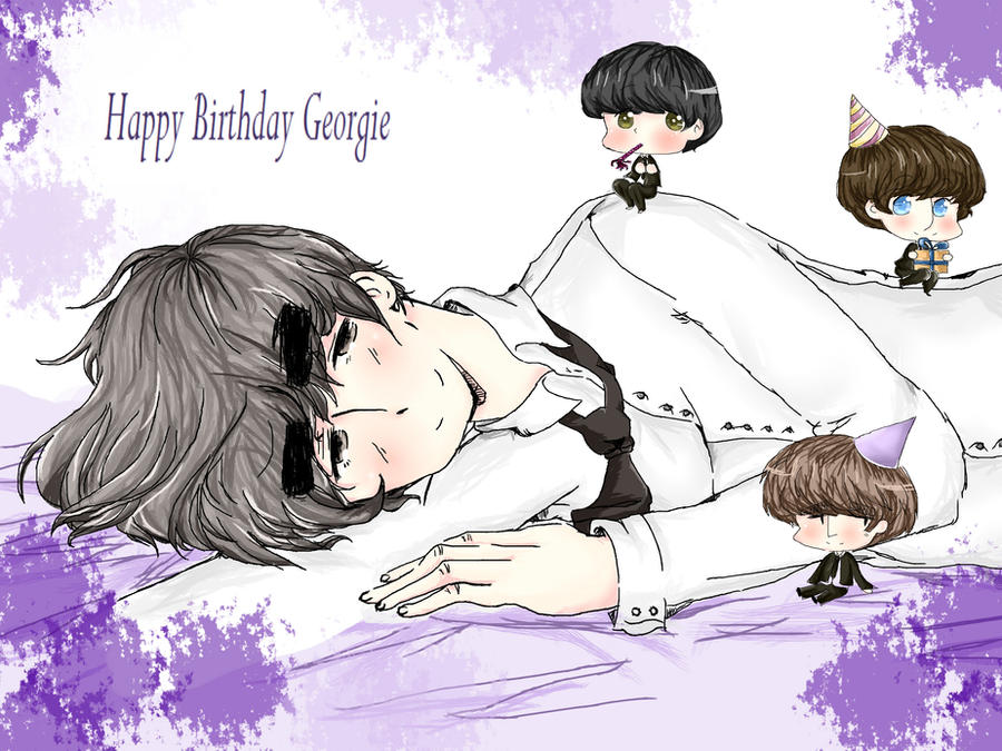 Happy birthday Geo by daisymcqueen