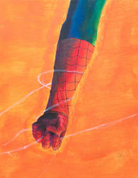Spiderman Hand painted