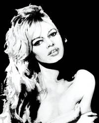 Brigitte Bardot, Et dieu crea la femme by mravey